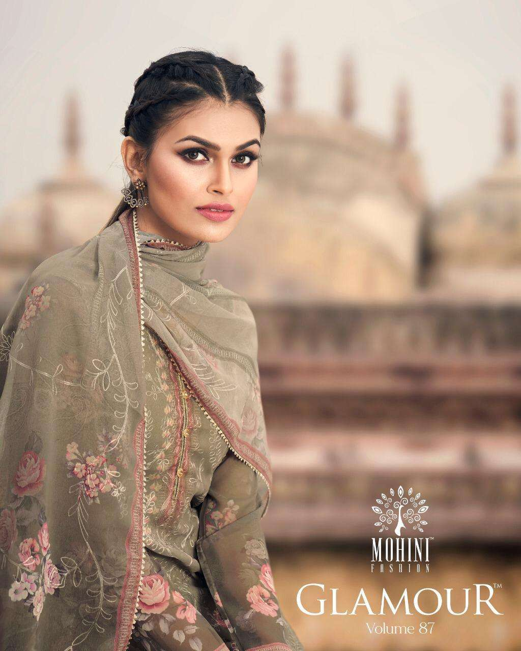 Mohini Fashion Glamour Vol 87 Party Wear Straight Suit New Collection