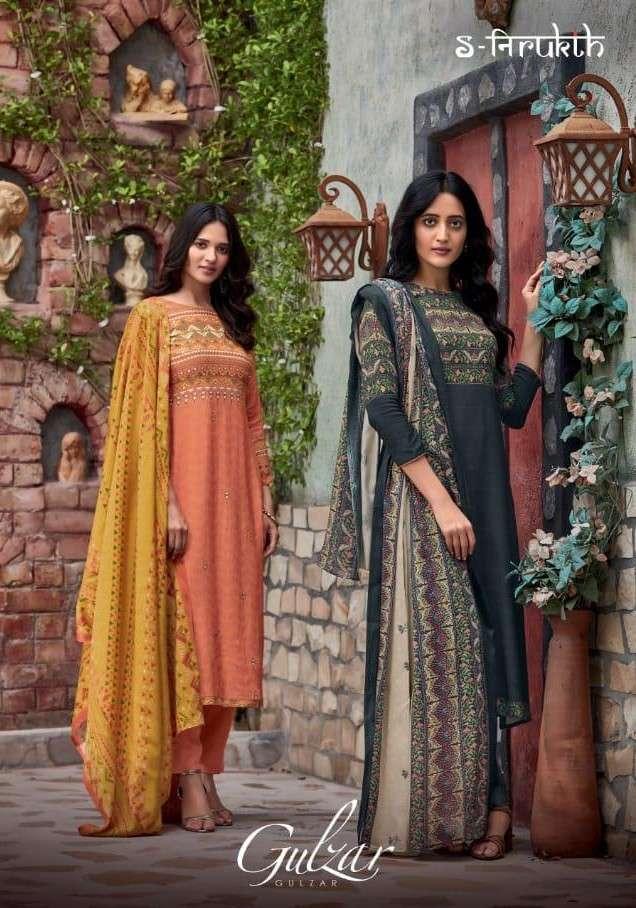 Nirukht Gulzar Exclusive Cotton Ladies Unstitched Suit Designs