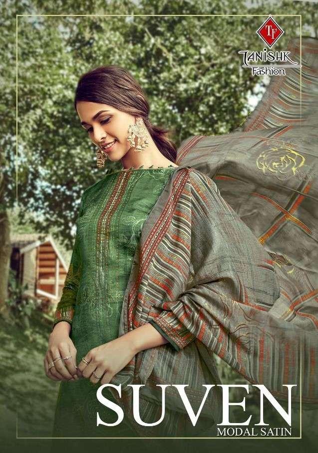 Tanishk Suven Digital Print Satin Salwar kameez Wholesale Price