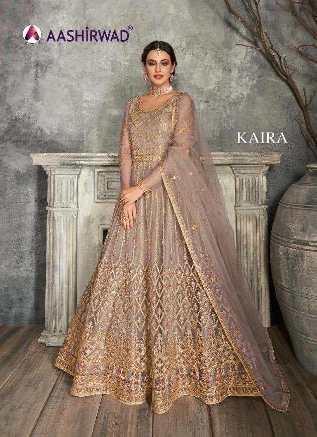 Aashirwad Kaira Designer Heavy Work Anarkali Dress Collection