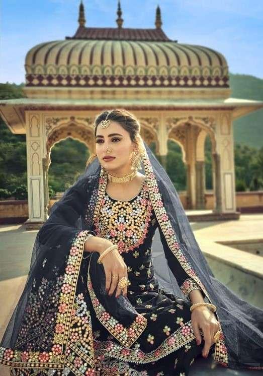 Amyra Designer Noor Plazzo Style Designer Salwar Kameez Wholesaler
