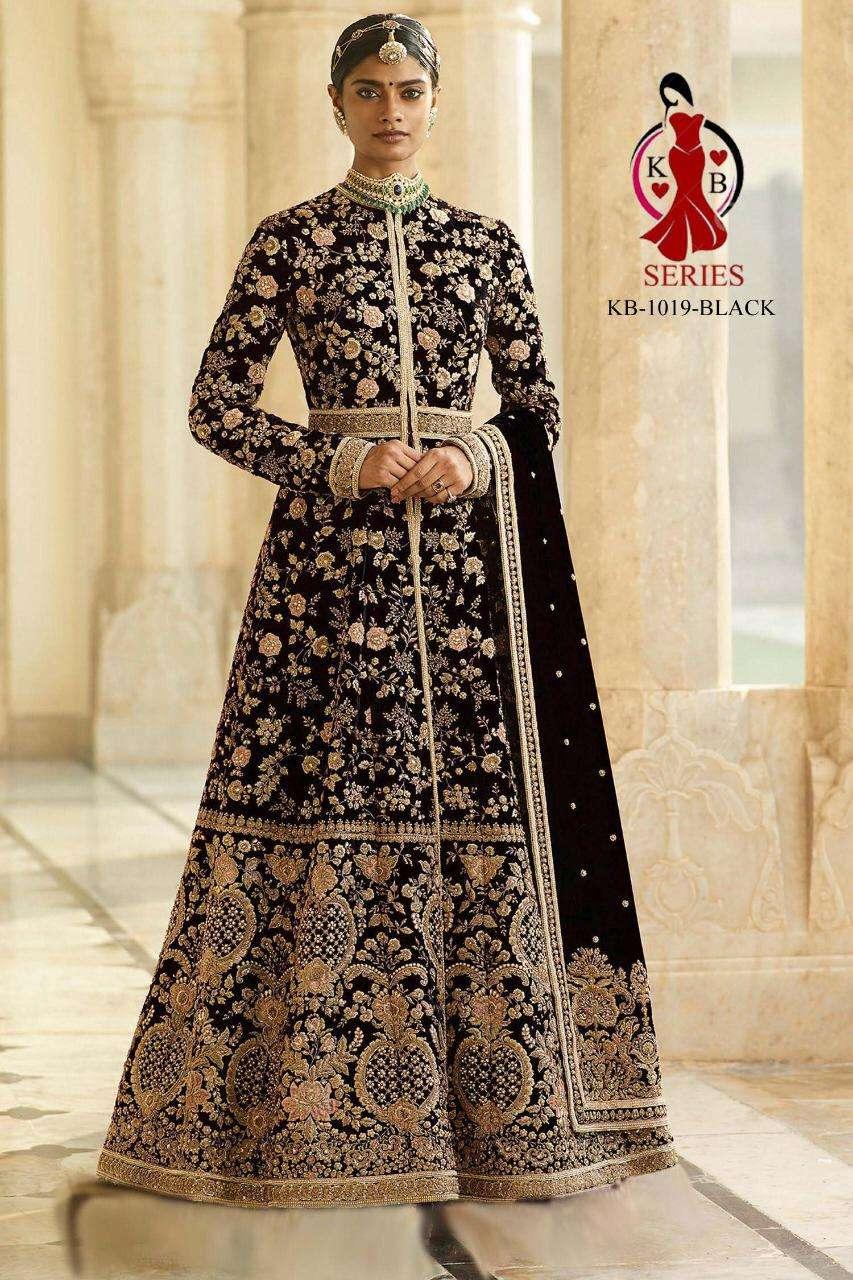 KB Series 1019 Colors Fancy Heavy Work Designer Salwar Kameez Wholesaler