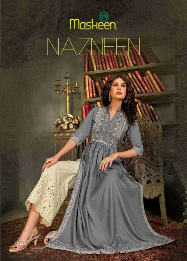 Maskeen Nazneen Designer Readymade two Piece Collection at Best Rate