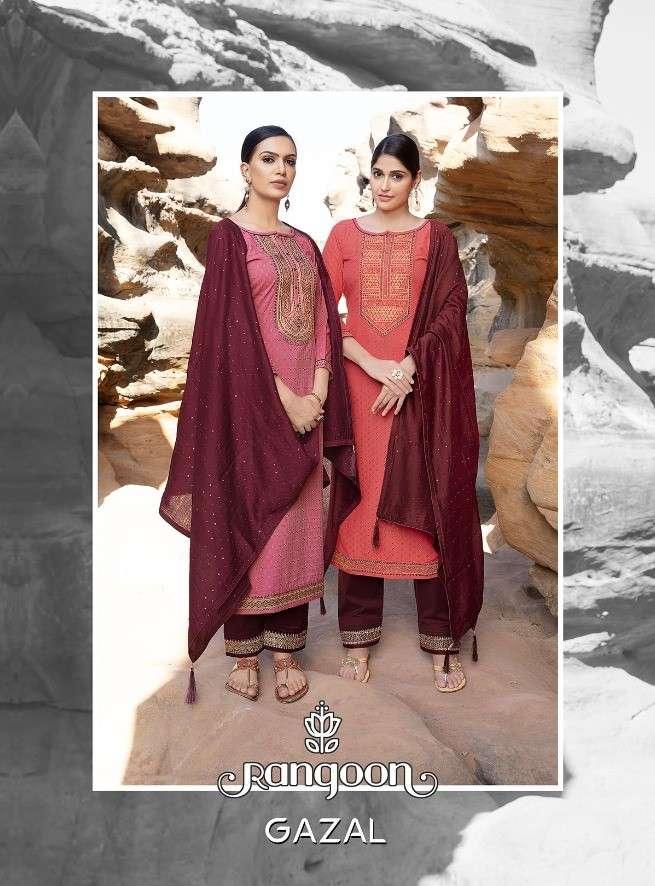 Rangoon Gazal Latest Partywear Readymade Collection