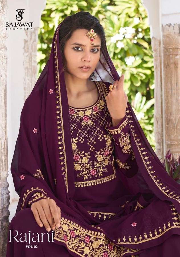 Sajawat Rajani Vol 2 Party Wear Readymade Suit Collection