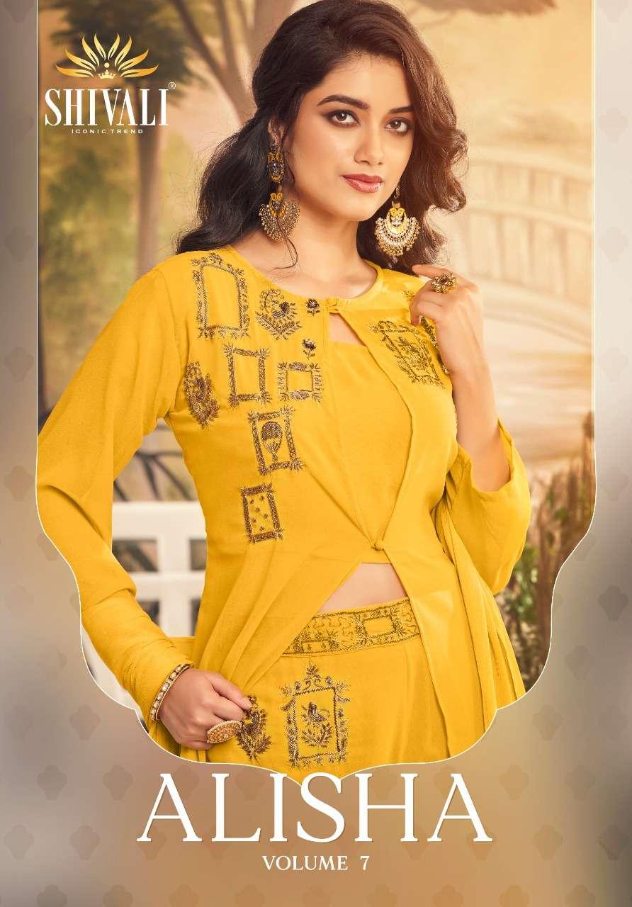 Shivali Fashion Alisha Vol 7 Designer Boutique Collection