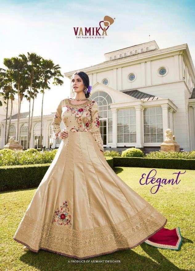 Vamika Elegant Designer Readymade Kurti Gown Catalog Wholesaler