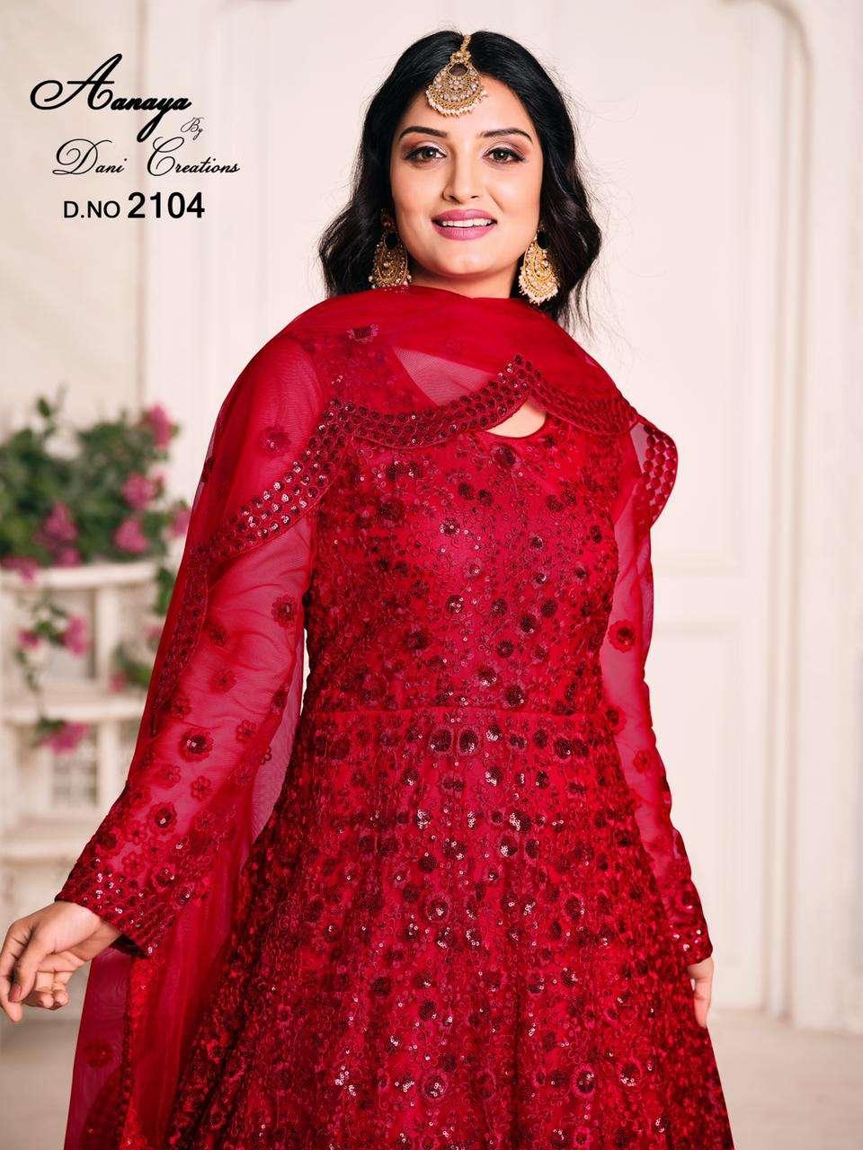 Aanaya Vol 121 Designer Fancy Anarkali Dealer Rate