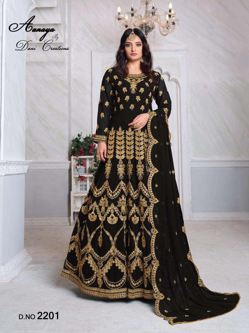 Aanaya Vol 122 Designer Heavy Work Anarkali Suit Catalog Supplier in Surat