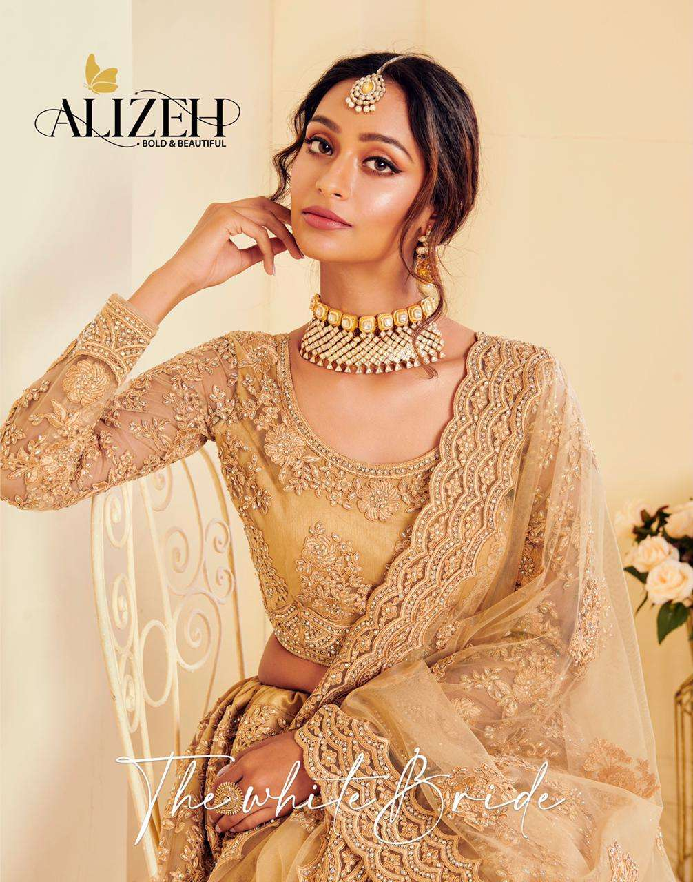Alizeh The Winter Bride Designer Bridal Lehenga Choli Collection