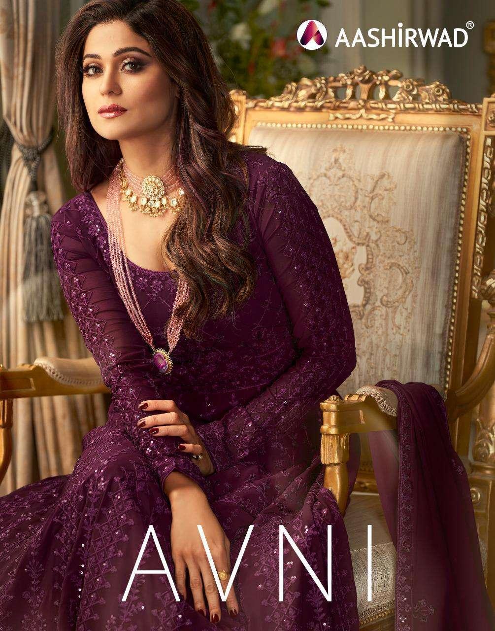 Ashirwad Avni Designer Anarkali Suits Wholesaler