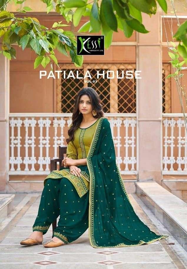 Kessi Patiala house Vol 83 Punjabi Patiala Suit Catalog Supplier