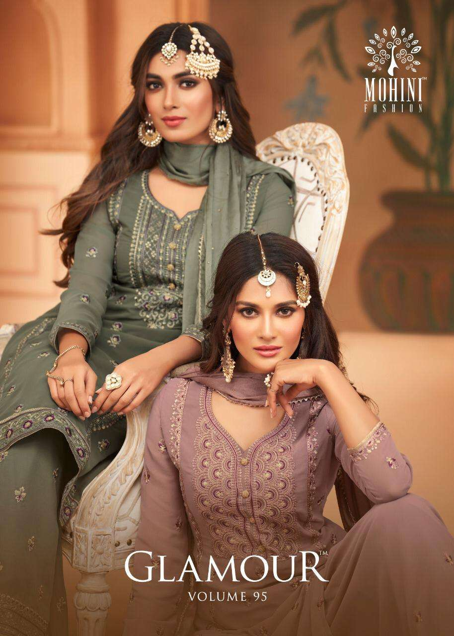 Mohini Fashion Glamour Vol 95 Straight Suit New Collection at Best rate