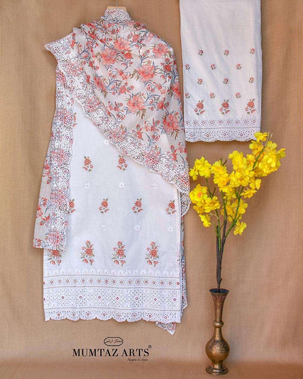 Mumtaz Arts Summer Sunshine 2021 Vol 1 Cotton Suit Catalog Dealer