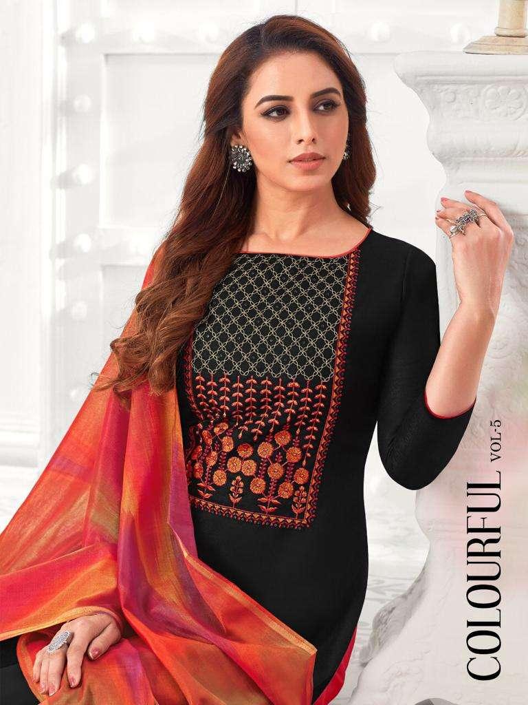 Raghav Royals Colourful Vol 5 Casual Ladies Suit Catalog at Best Price