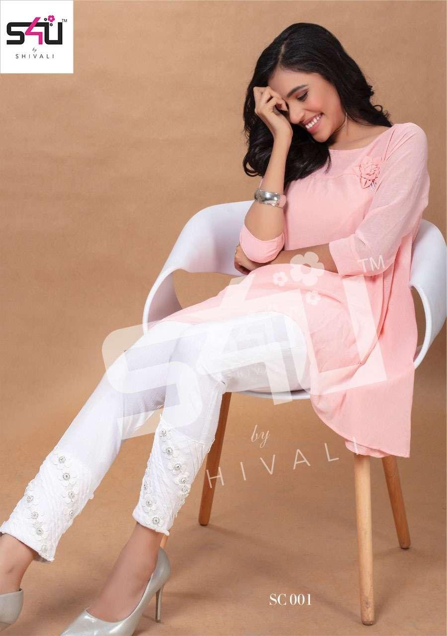 S4U By Shivali Stretchable Stylish Handwork Pants Collection
