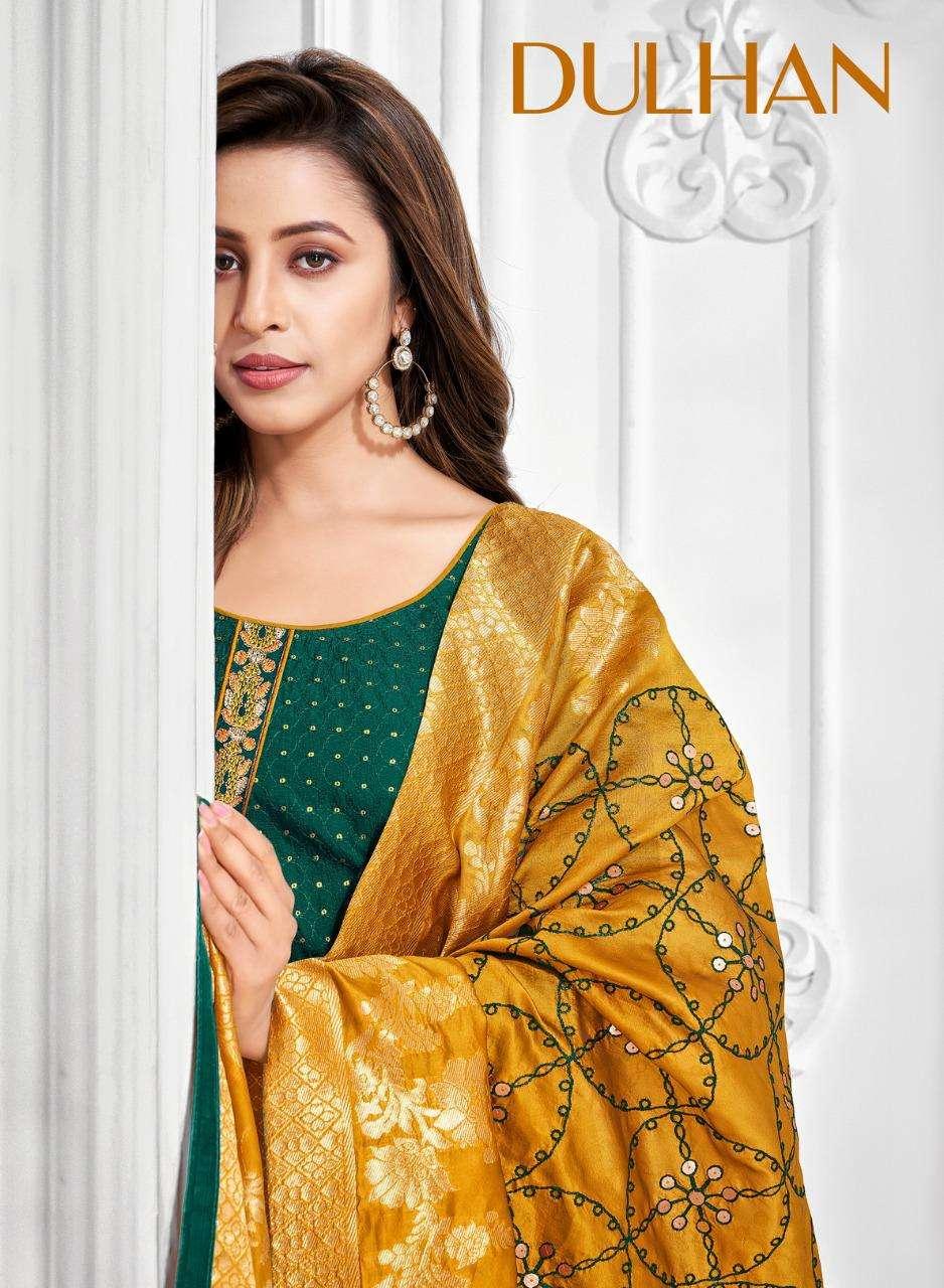 Shagun Dulhan Modal Silk Salwar Kameez Wholesaler