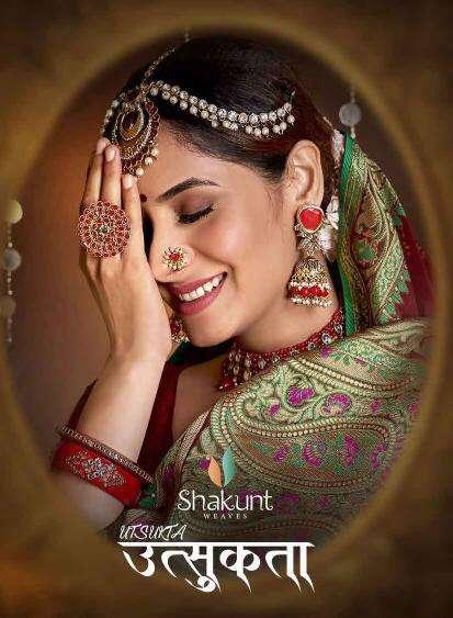 Shakunt Utsukta Exclusive Stylish Cotton Saree Catalog Dealer