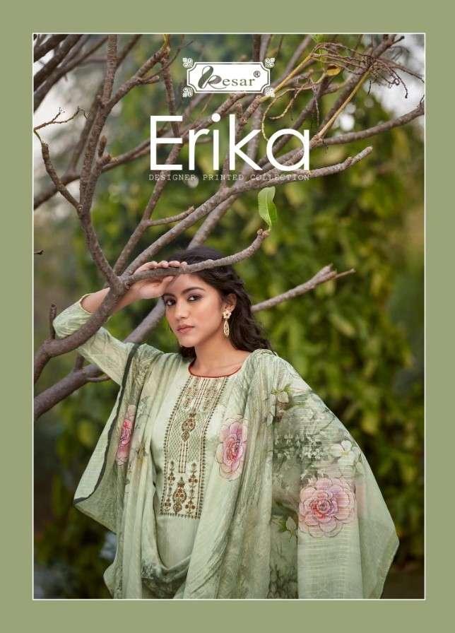 Shri Vijay Kesar Erika Jam Silk Suits Catalog