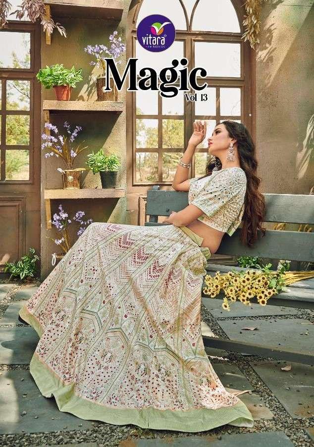 Vitara Magic Vol 13 Fancy Crop Top Catalog Wholesaler
