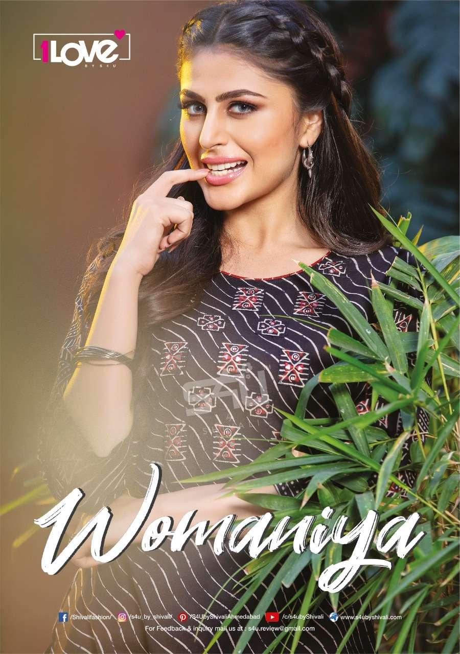 1Love Womaniya Vol 18 by S4U Latest Kurti Pant Sets Catalog Supplier in Surat
