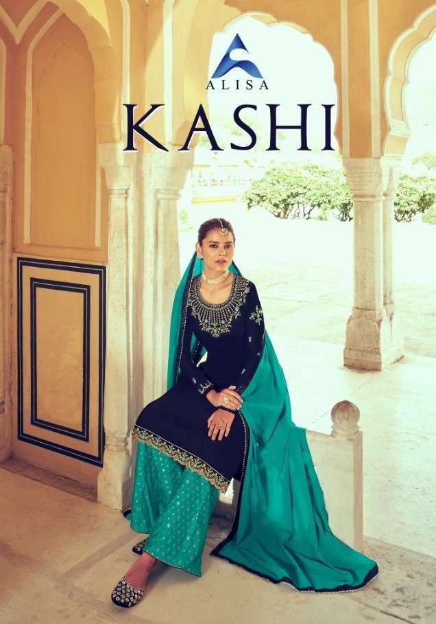 Alisa Kashi Plazzo Style Designer salwar Kameez Catalog Wholesale price