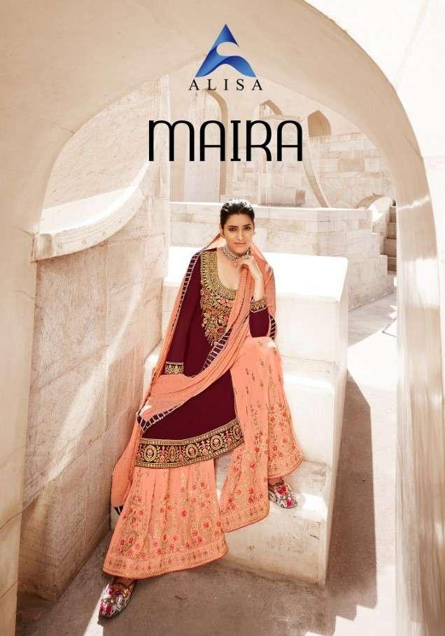Alisa Maira Exclusive Sharara Style Salwar kameez New catalog Supplier