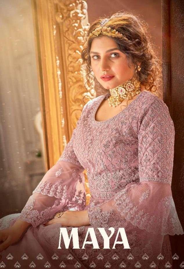Avighaya Maya 1008 to 1011 Series Designer Ethnic Wear Dress Collection