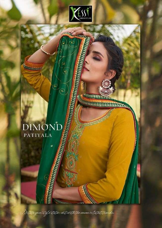 Kessi Diamond Patiyala Punjabi Ladies Suit Catalog Wholesaler