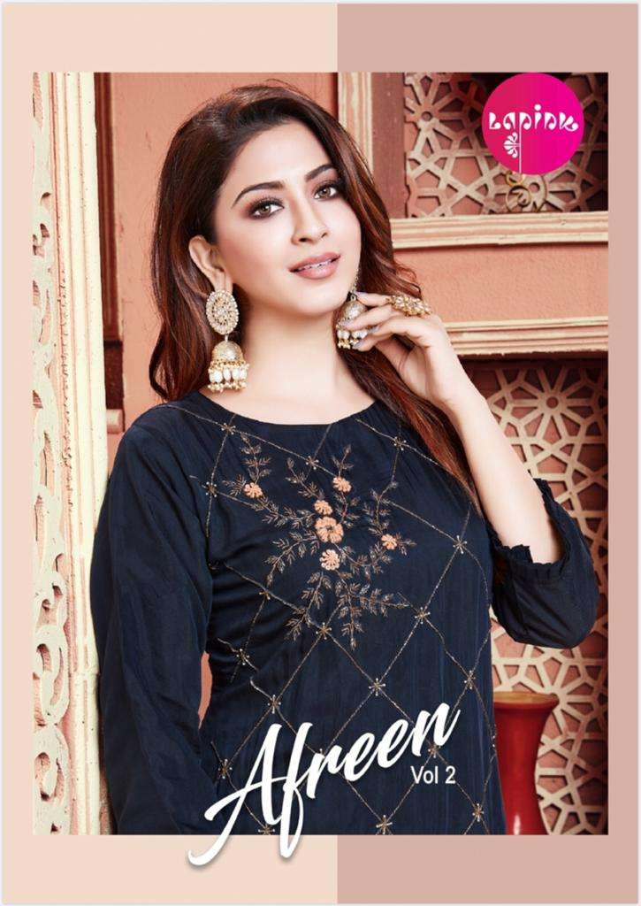 La Pink Afreen Vol 2 By Pink Lifestyle Designer Readymade Ethnic Wear Collection