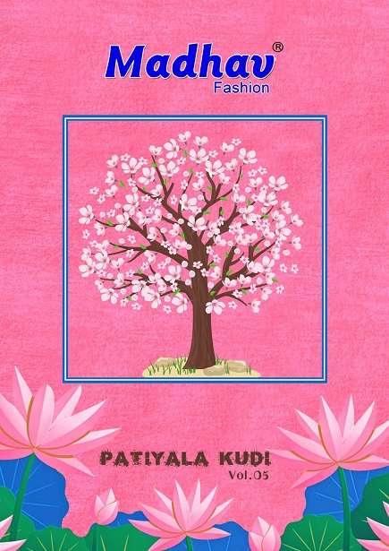 Madhav Patiyala Kudi Vol 5 Ready to Wear Cotton Suits Online