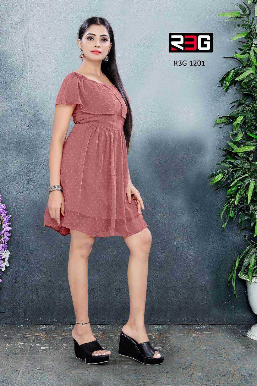 R3G Fashion Design no 012 Fancy One Piece New Collection at Best Rate