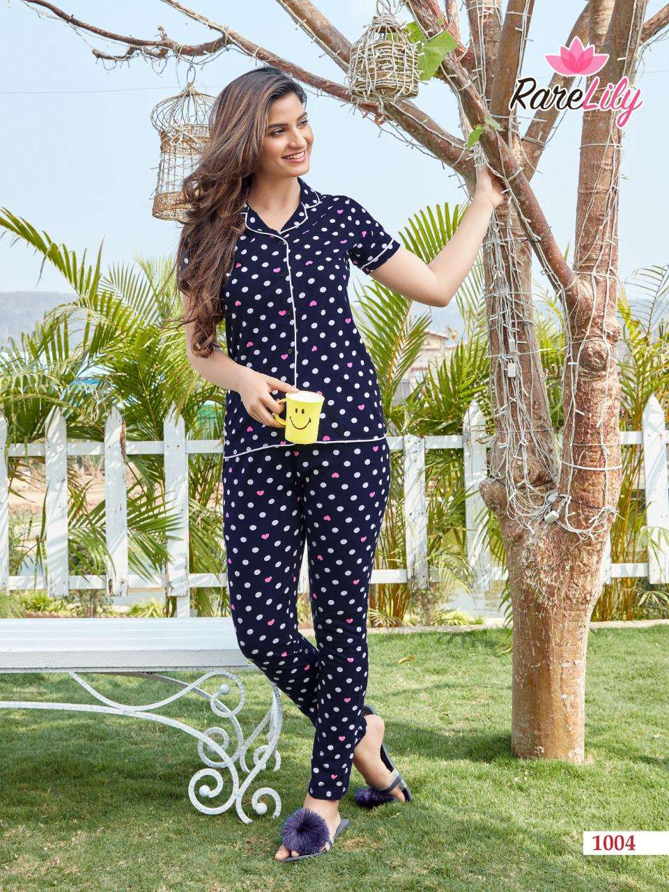 Rare Lily Zil Mil Vol 3 Fancy Printed Night Wear New Collection
