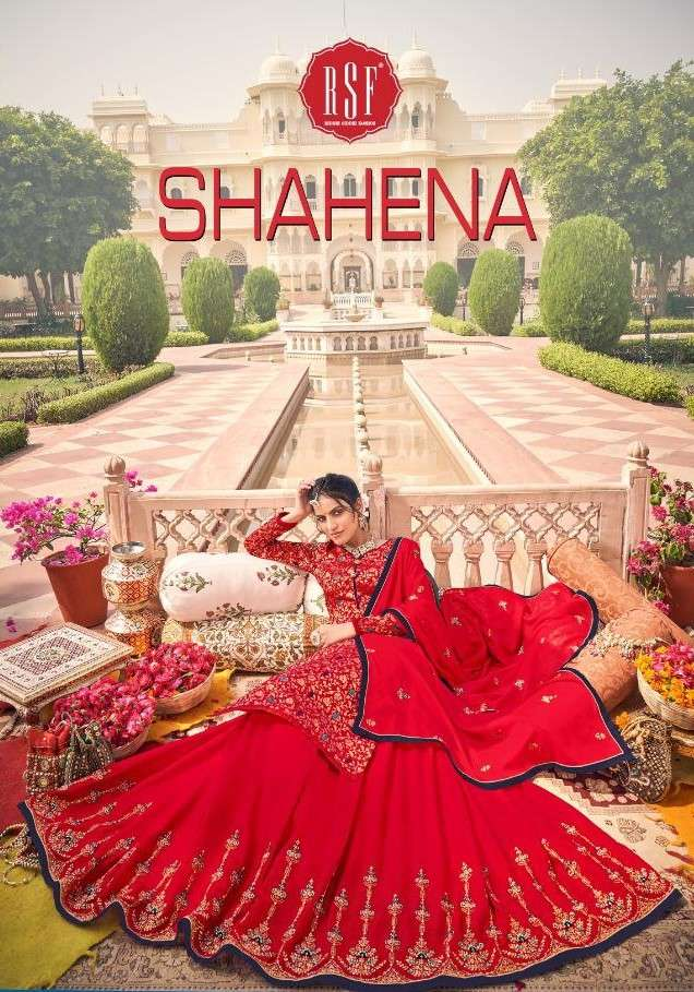 RSF Shahena Fancy Lehenga Style New Collection at Best Rate