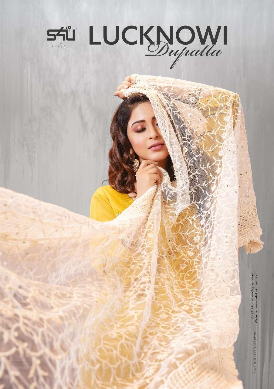 S4U By Shivali Lucknowi Dupatta Latest Catalog By Online
