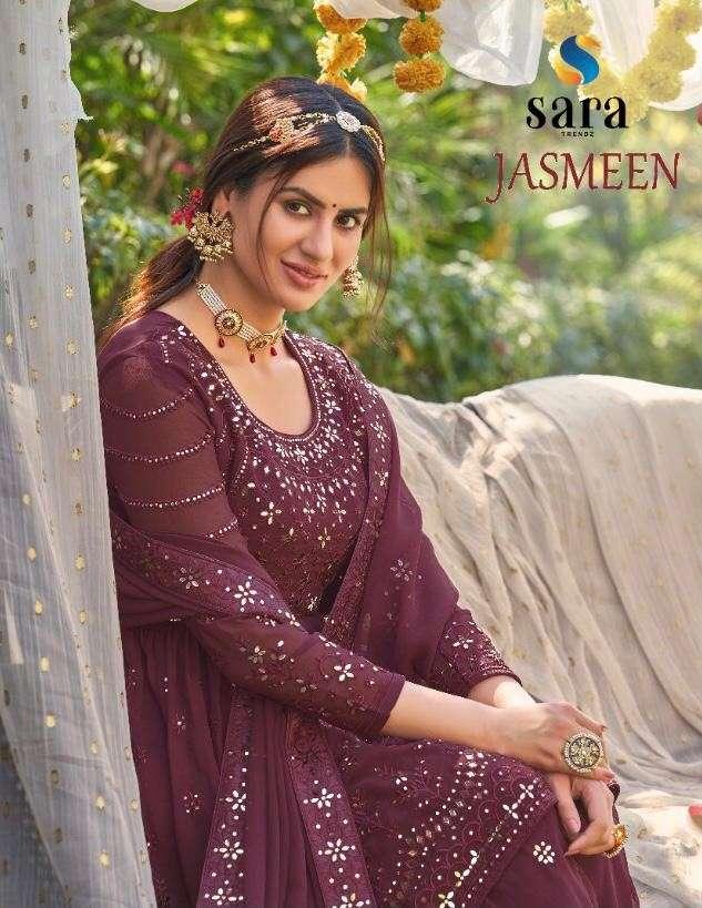 Sara Trends Jasmeen Designer Plazzo Style Salwar Kameez catalog Supplier at Best rate
