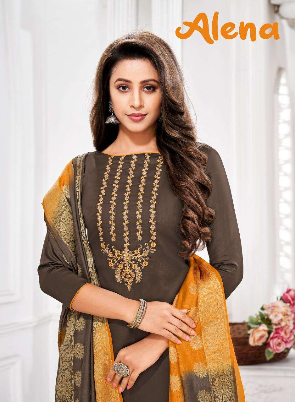 Shagun Alena Fancy Casual Cotton Salwar kameez Wholesale price