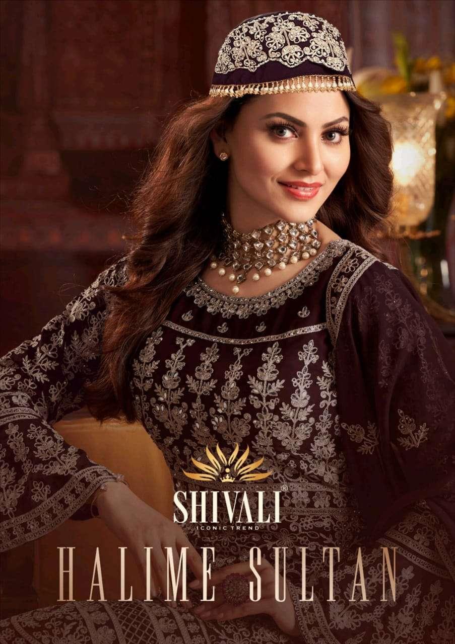 Shivali Halime Sultan Partywear Lehenga Style Readymade Collection