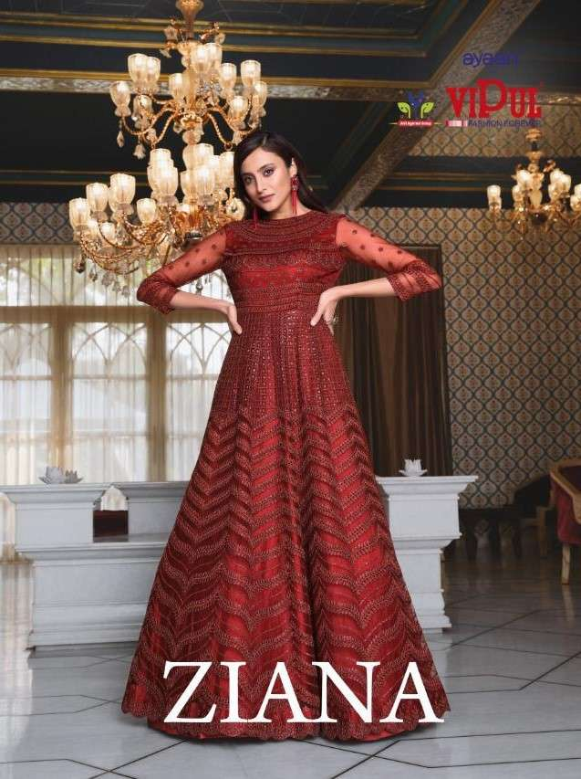 Vipul Fashion Ziana 4621 to 4629 Designer Premium Collection Dresses at Best rate