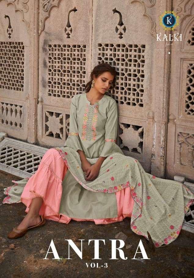 Kalki Fashion Antra Vol 3 Designer Readymade Sharara Dress Collection at Best Rate