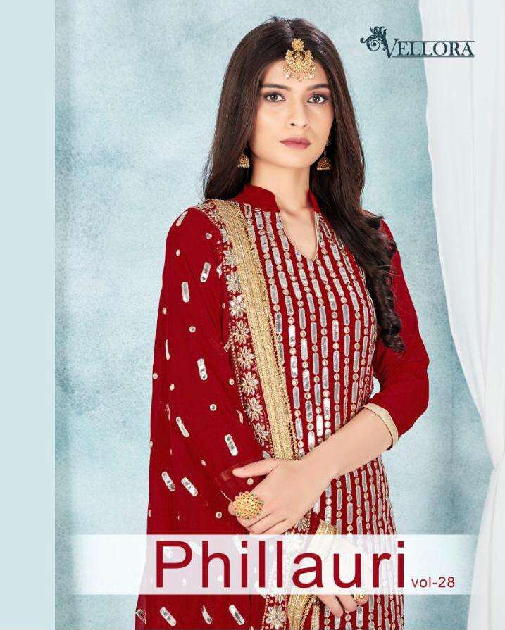 Phillauri Vol 28 Fancy party Wear Salwar Kameez Catalog Wholesale Price
