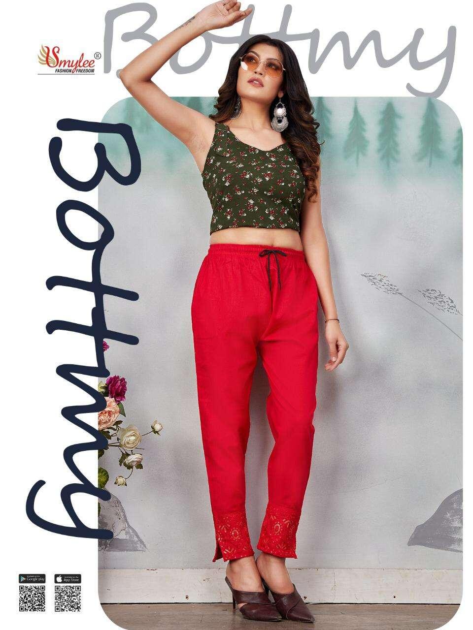 Rung Bottmy Stretchable fancy Pants Catalog Wholesale Price