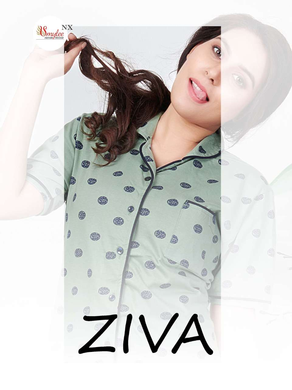Smylee Fashion Ziva Fancy Printed Night Dress Catalog Buy Online