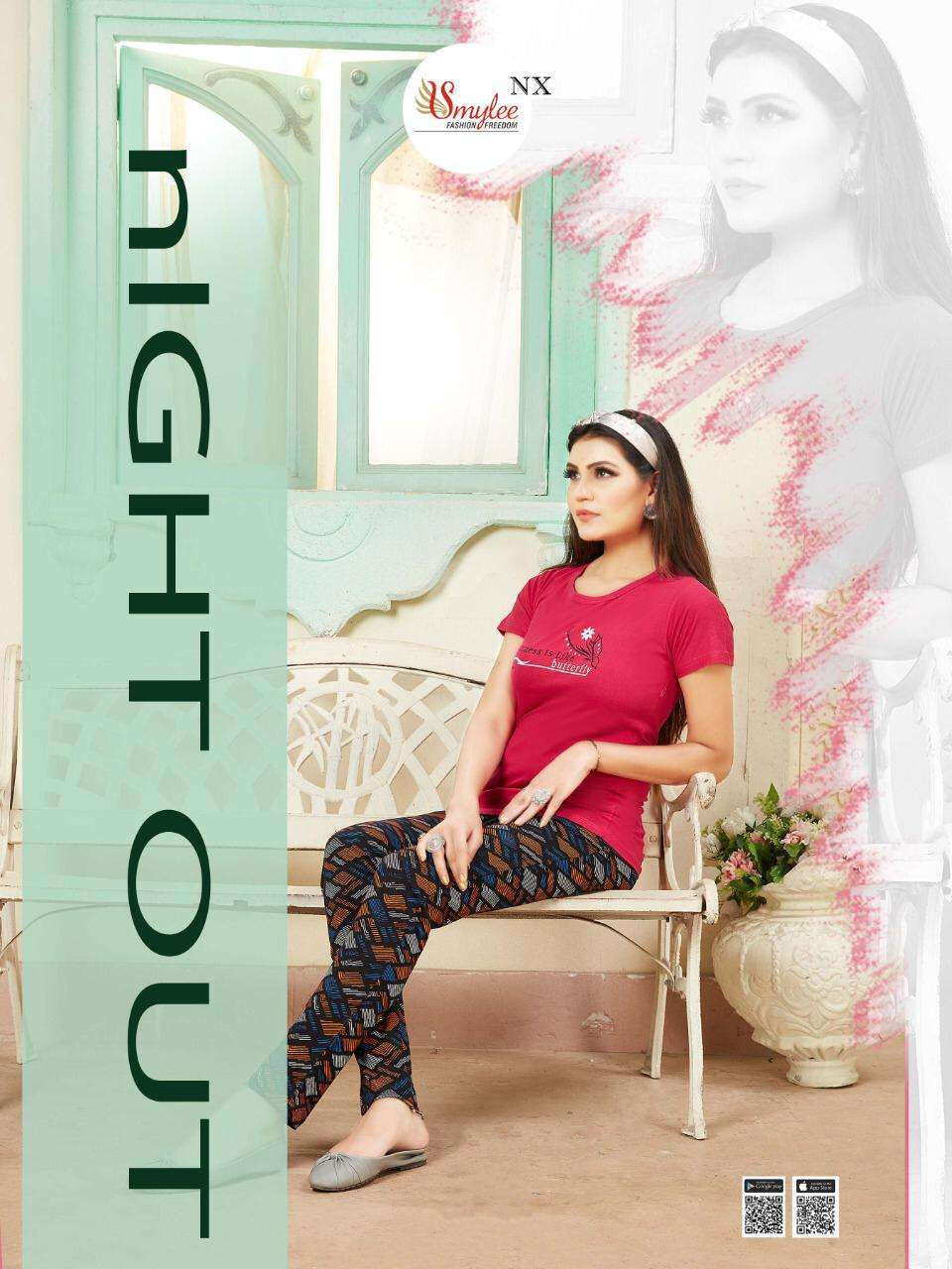 Smylee Night Out Daily Wear Night Suit In Wholesale Price