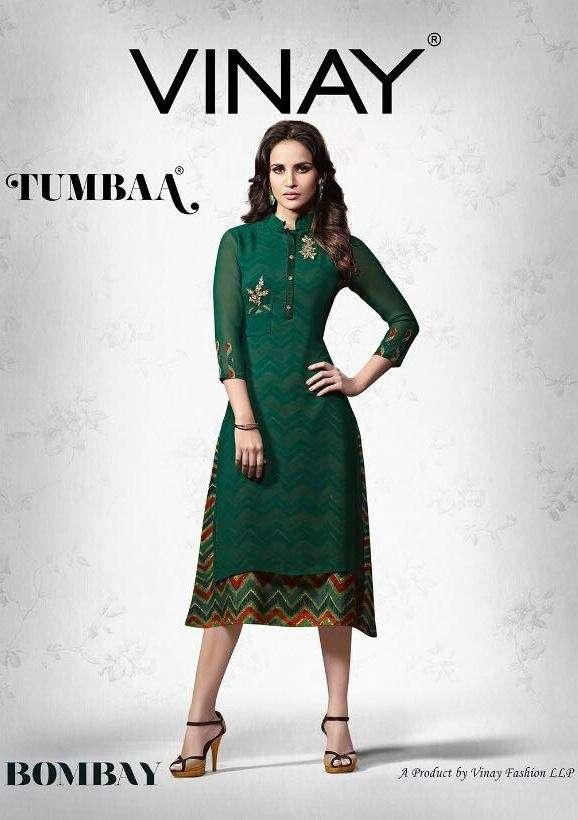 vinay fashion tumbaa bombay Designer kurti catalog best rate