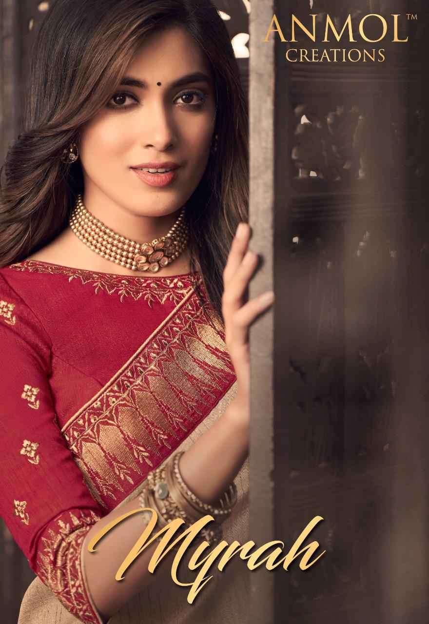 Anmol Myrah Designer Exclusive Party Wear Saree Catalog Buy Online