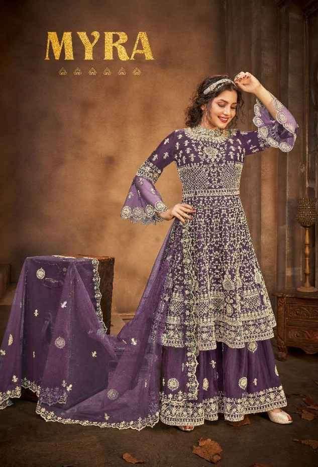 Avighaya Myra 2007 Colors Designer Sharara Style Dress Wholesale price