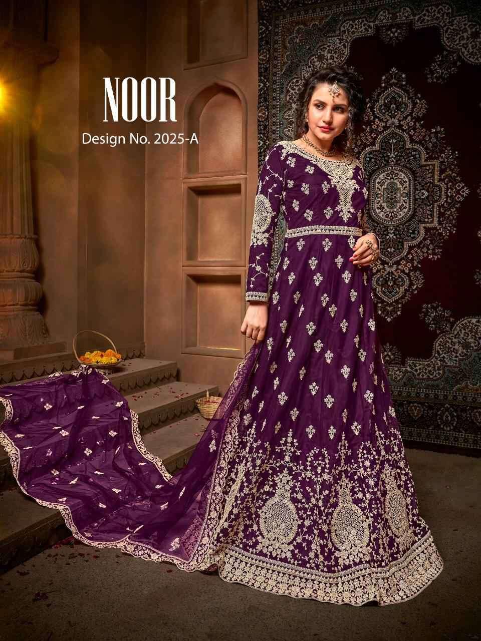 Avighaya Noor 2025 Colors Designer Work Anarkali Dress Collection