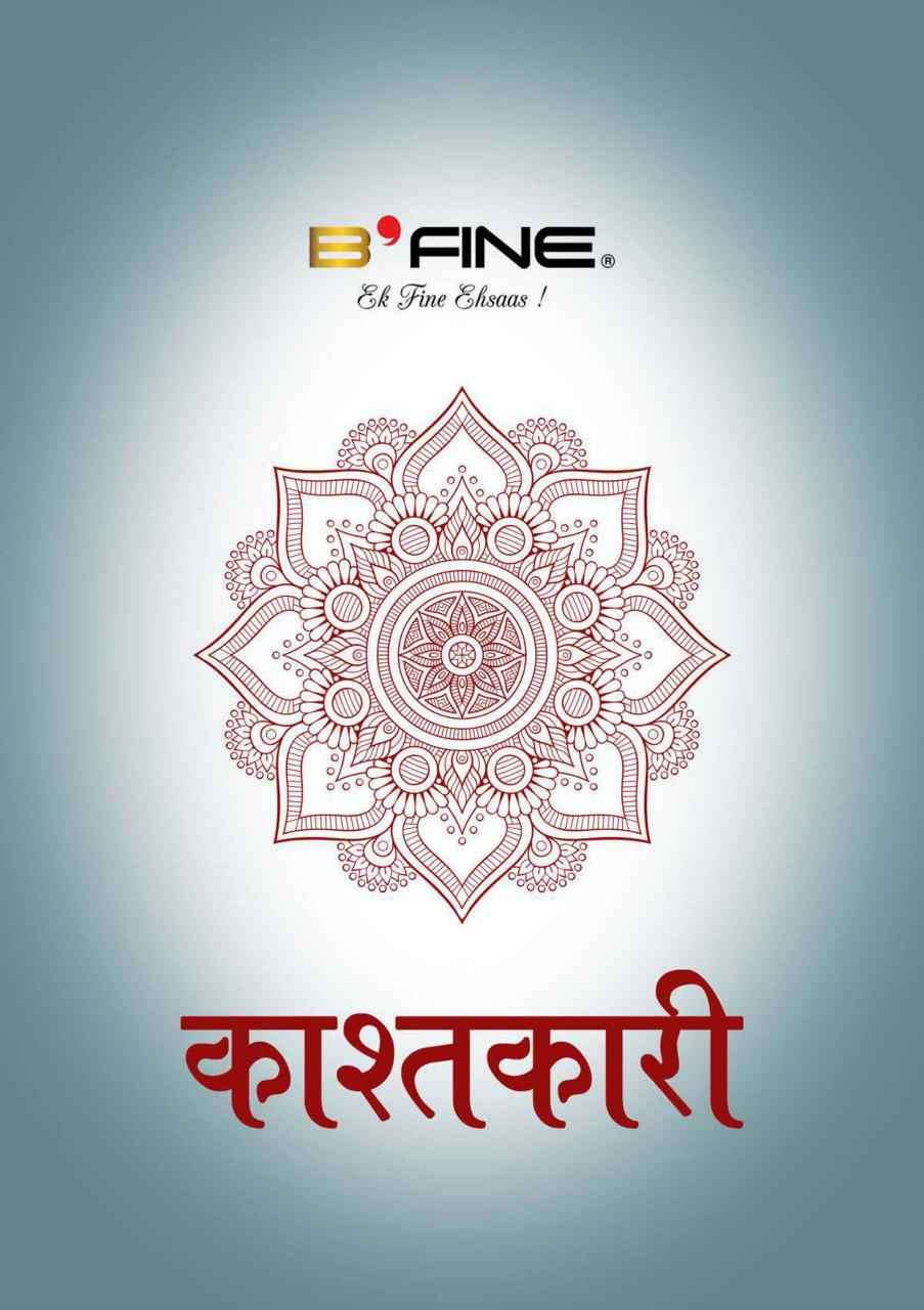 B Fine Kashtkari Designer Party Wear Banarasi Silk Saree Collection
