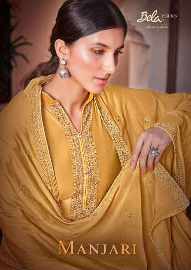Bela Fashion Manjari Cotton Silk Salwar Suit Wholesale price